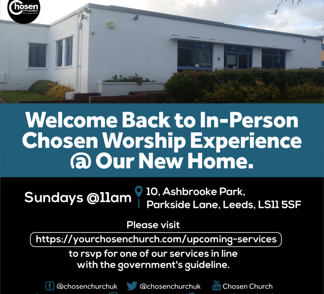 Chosen Worship Experience - Square Size - 1975 x 1975 px